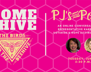 HOME with the HIVE: PJ's & Politics